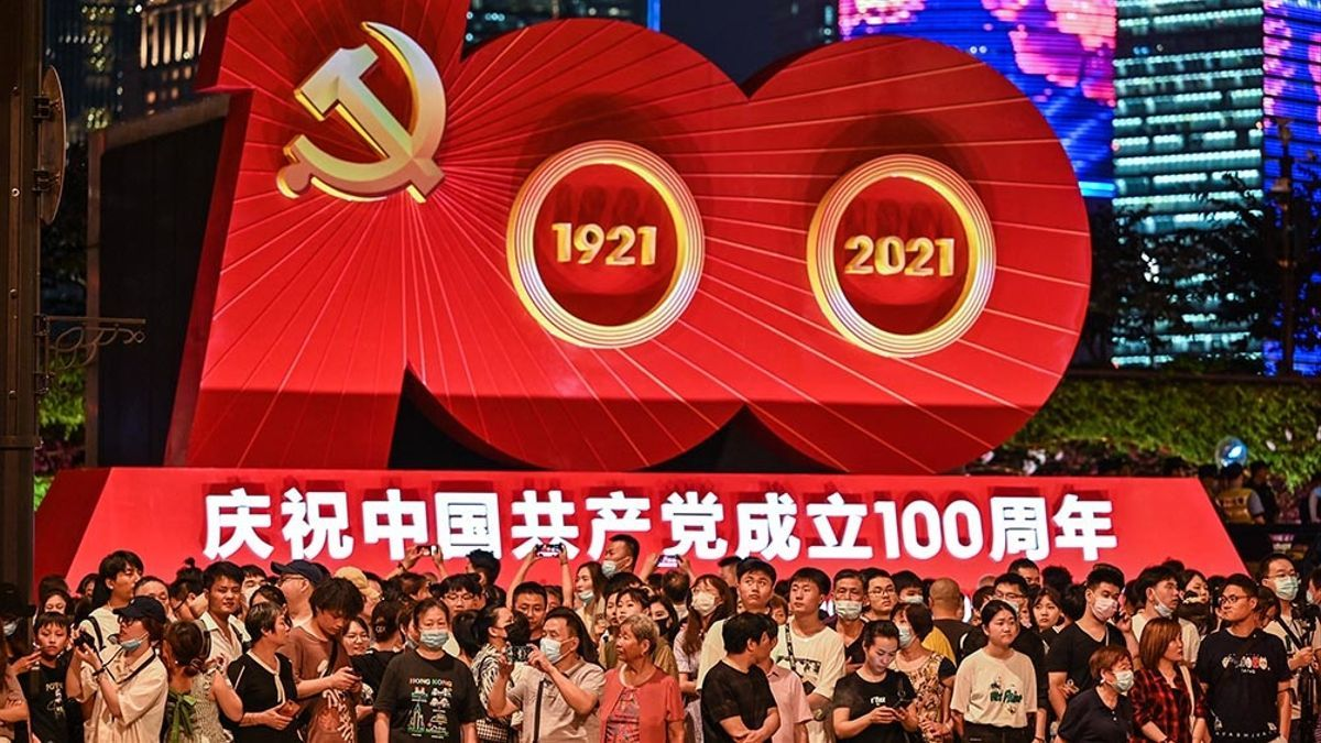 China celebró los 100 años del PCCh