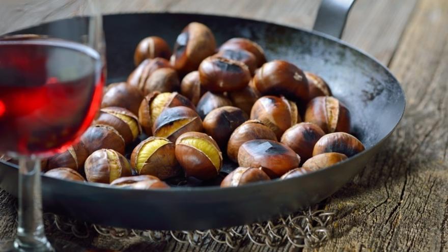 """Aumenta un 20% la recolección de la castaña de """"buena calidad"""" pero las altas temperaturas ralentizan su consumo"""