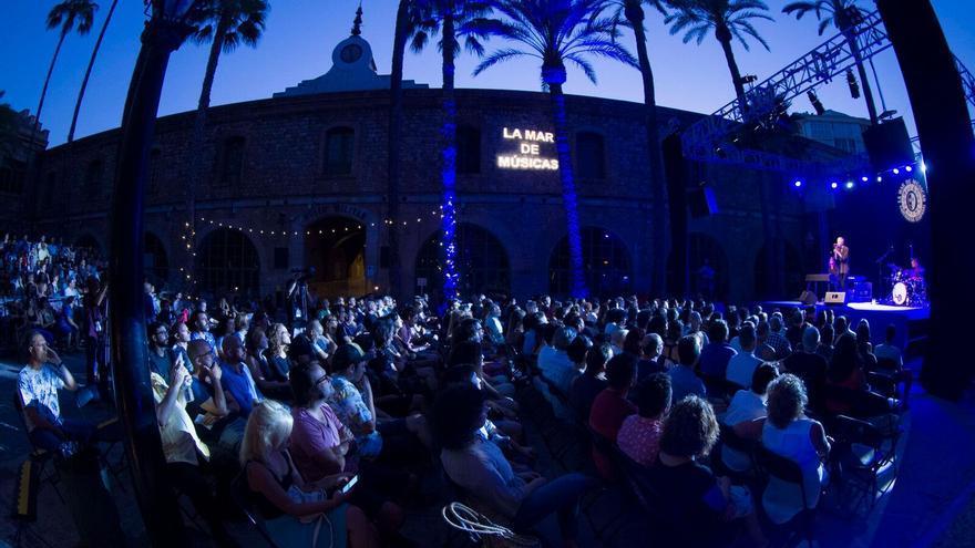 Público asistente a La Mar de Músicas