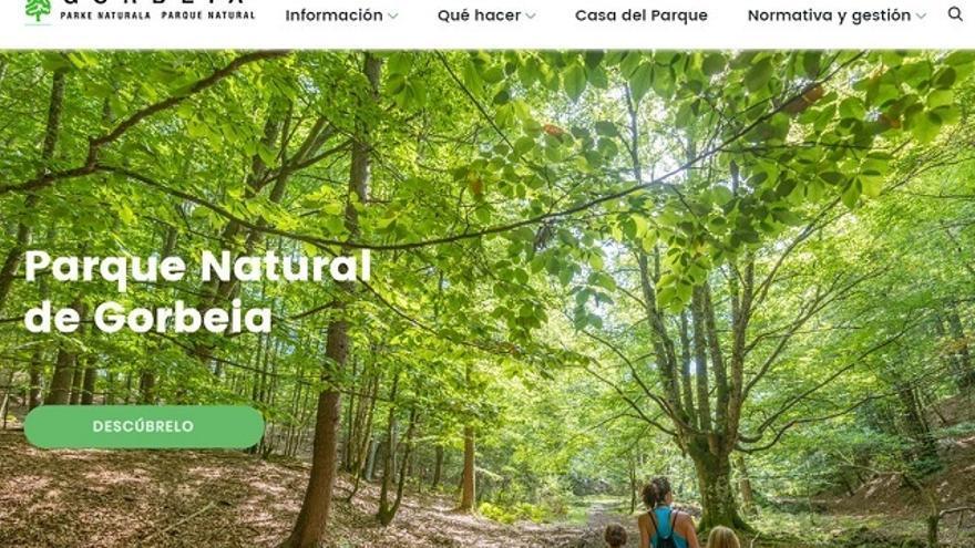 Los parques naturales de Álava presentan sus nuevas páginas web con rutas descargables