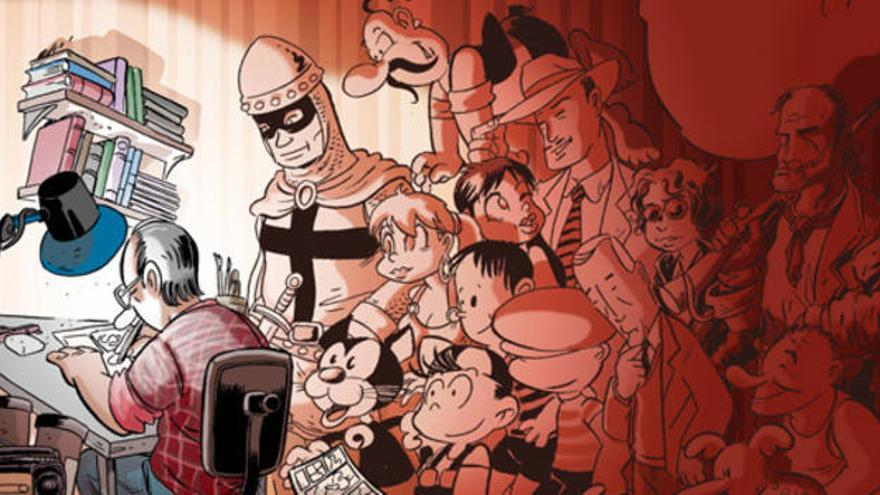 Héroes del tebeo valenciano