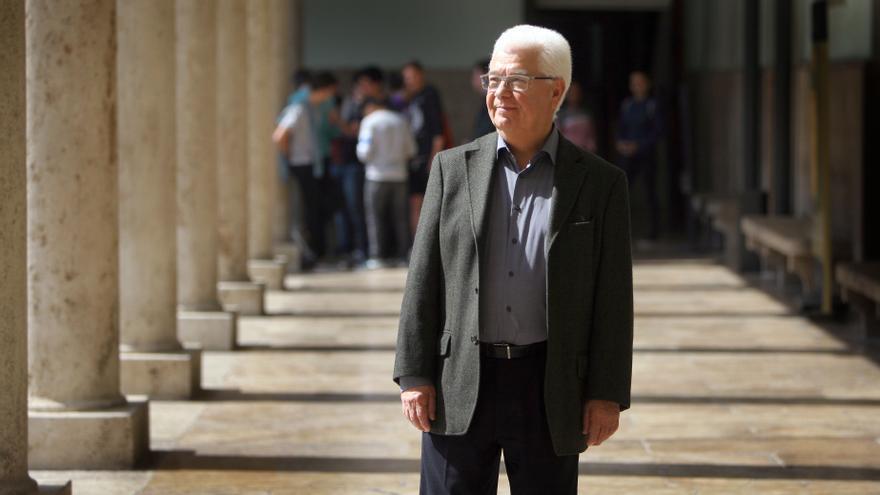 Jordi Palafox, en la Universidad de Valencia.
