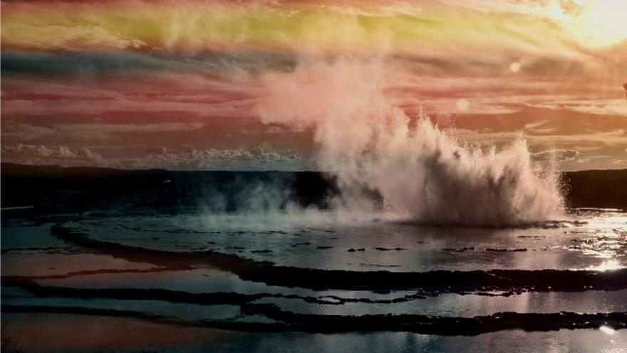 Yellowstone - Géiser