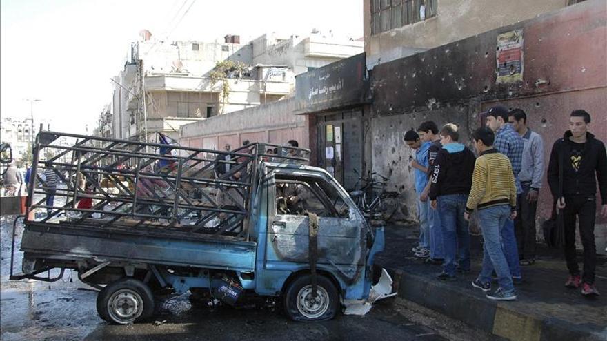Choques intensos en la carretera que une Damasco con los feudos costeros del régimen