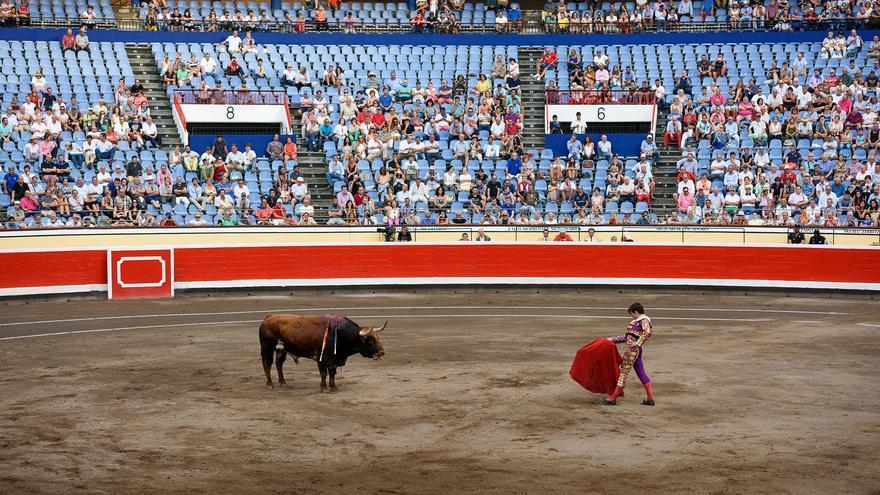 Plaza de toros de Vista Alegre (Bilbao), agosto 2016.