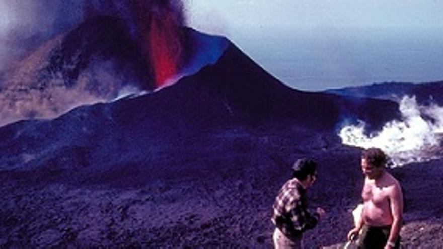 Un documental revive la erupción del Teneguía