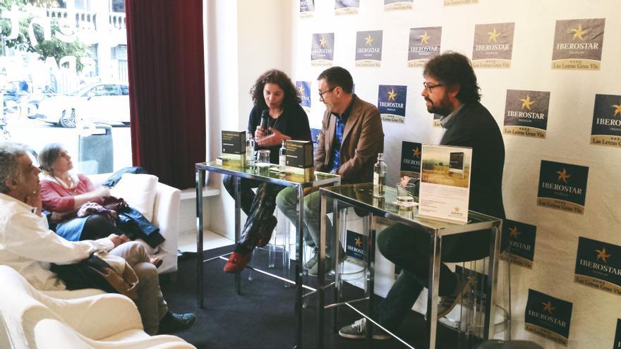 Sergio del Molino durante la presentación de su libro