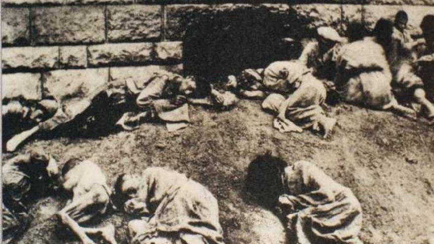 Cuarenta armenios masacrados en 1919 durante el genocidio
