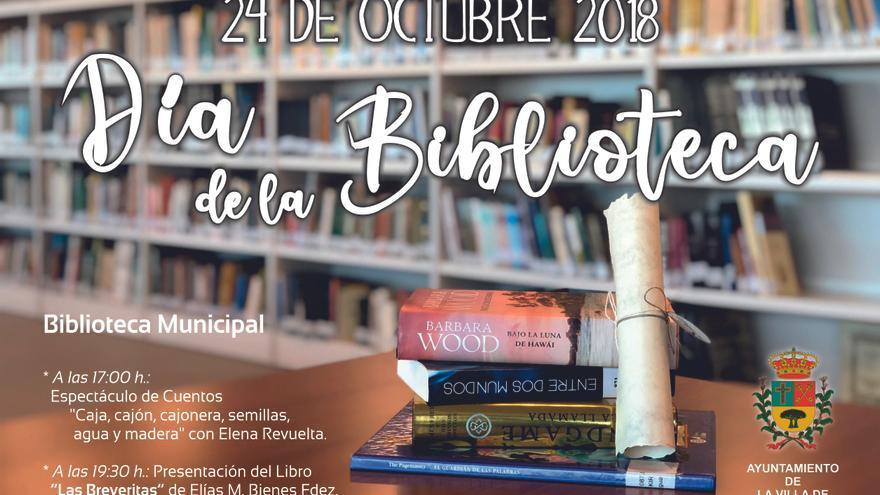 Cartel del Día de las Bibliotecas.