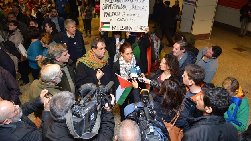 Regresa a España la candidata de IU atrapada en Gaza desde agosto