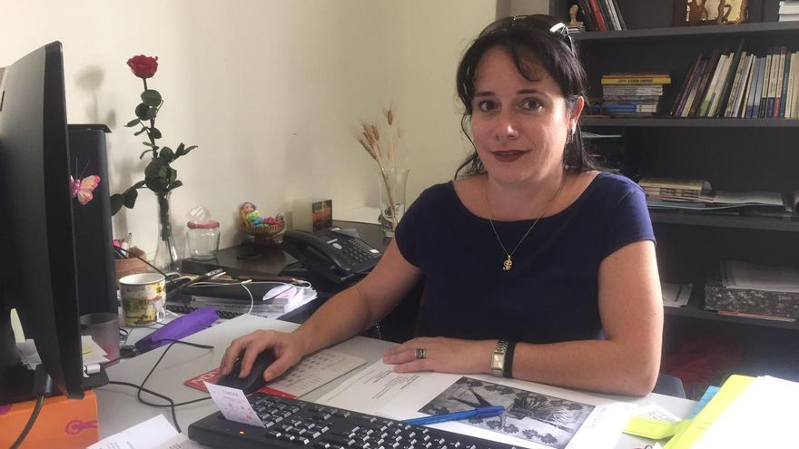 Patricia Ayut es concejal de Cultura de Breña Alta.