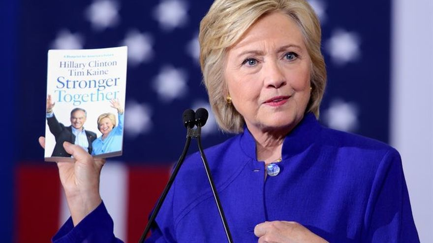 El New York Times expresa su respaldo a la demócrata Hillary Clinton