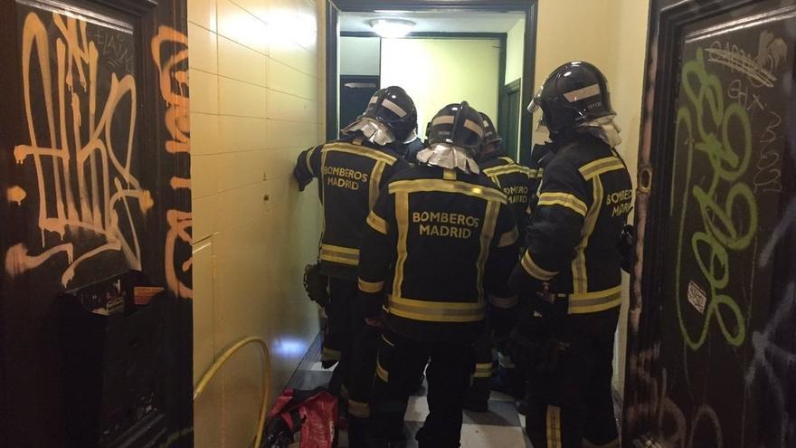 AMPL La familia herida al descolgarse un ascensor en Madrid en Nochebuena es de Cantabria
