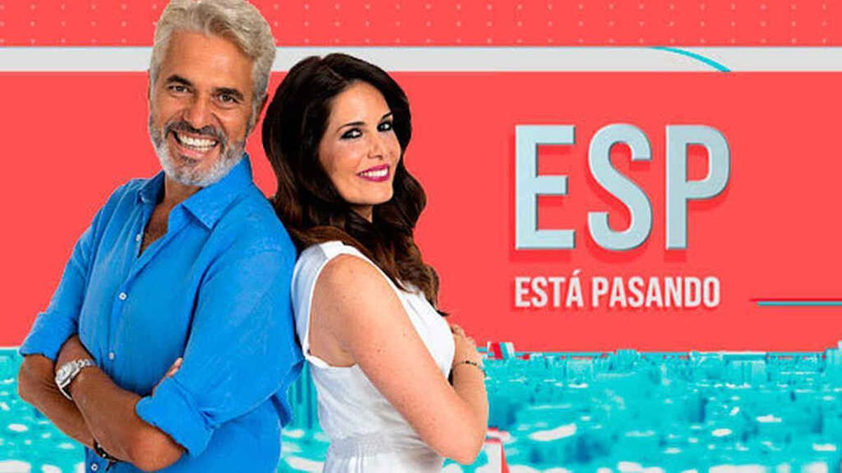 Agustín Bravo y Tania Garralda en una imagen promocional de 'Está pasando'