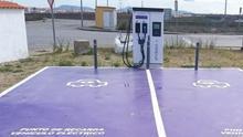 Cargador eléctrico automóvil Villafranca Barros