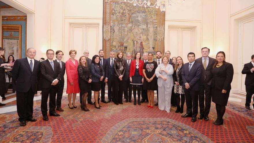 """Reyes Maroto defiende """"reforzar los vínculos con Iberoamérica"""" a través de colaboraciones en materia turística"""