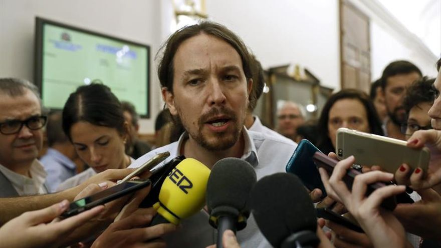 Pablo Iglesias no acudirá finalmente a saludar la protesta Rodea el Congreso