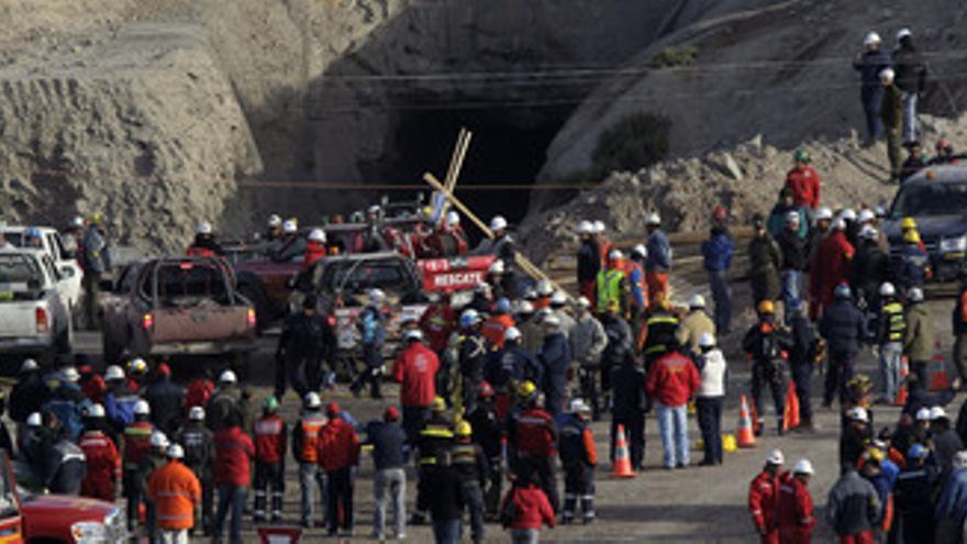 Mineros atrapados en Chile