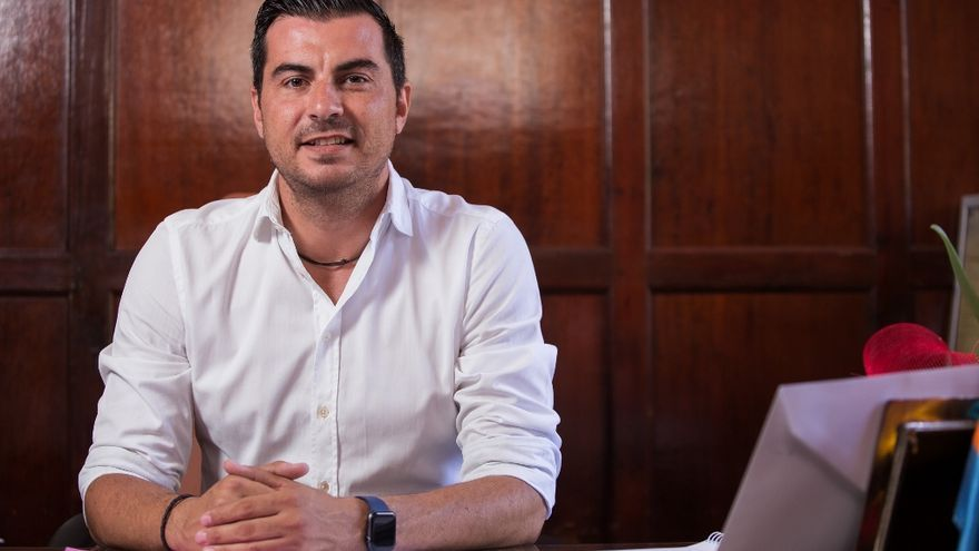 Manuel Perera Carreras, concejal de Urbanismo del Ayuntamiento de Los Llanos de Aridane.