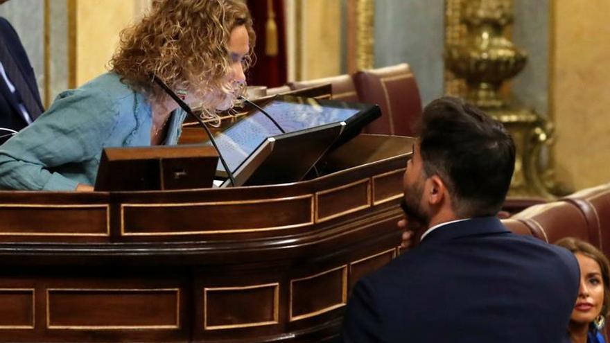 """Rufián avisa Sánchez de que la izquierda pagará """"el pato"""" de que no haya acuerdo"""