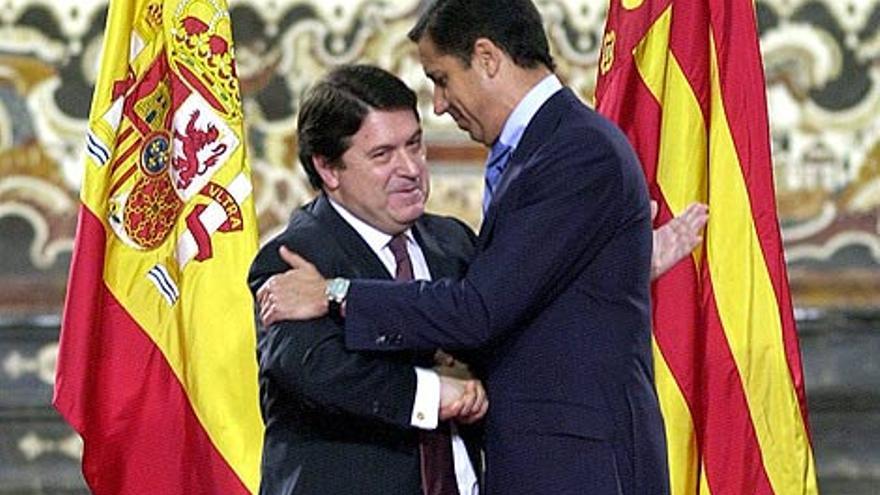 José Luis Olivas y Eduardo Zaplana.