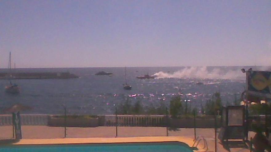 Del incendio de la embarcación #3