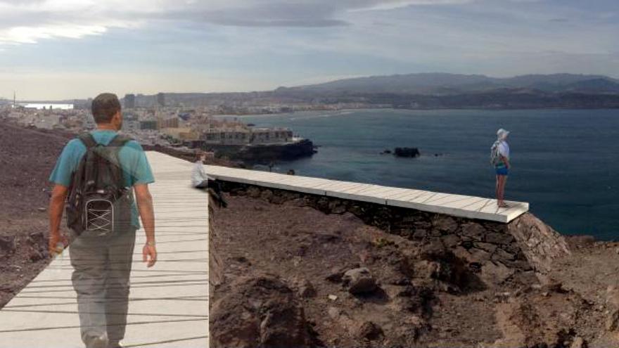 Proyecto de mirador en La Isleta
