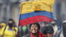 Un dirigente indígena fallece durante las protestas en Ecuador
