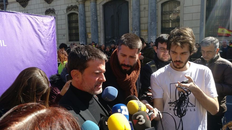 """Valls defiende una """"plataforma abierta"""" con varios partidos no independentistas para las municipales de Barcelona"""