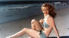 Marilyn Monroe en traje de baño