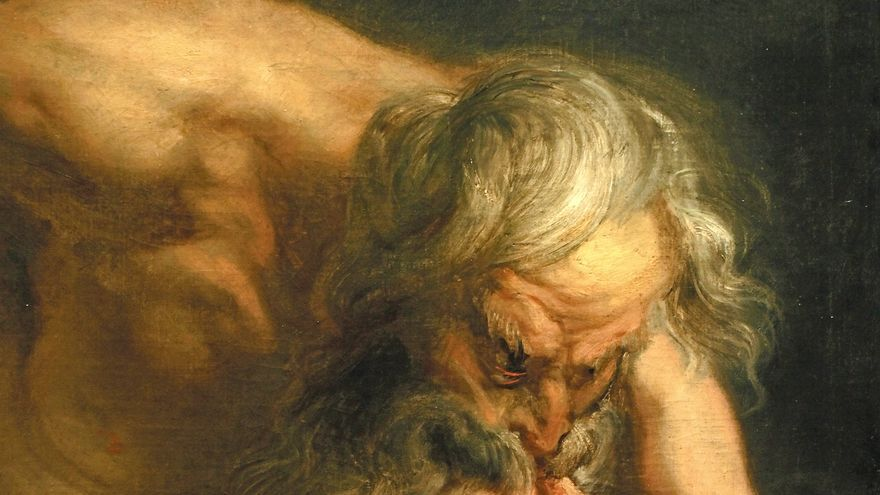 'Saturno devorando a un hijo' (1636 - 1638). RUBENS, PEDRO PABLO