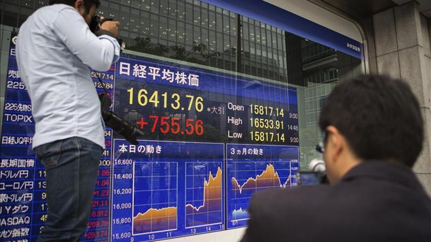 El Nikkei sube un 0,79 por ciento hasta los 16.925,66 puntos