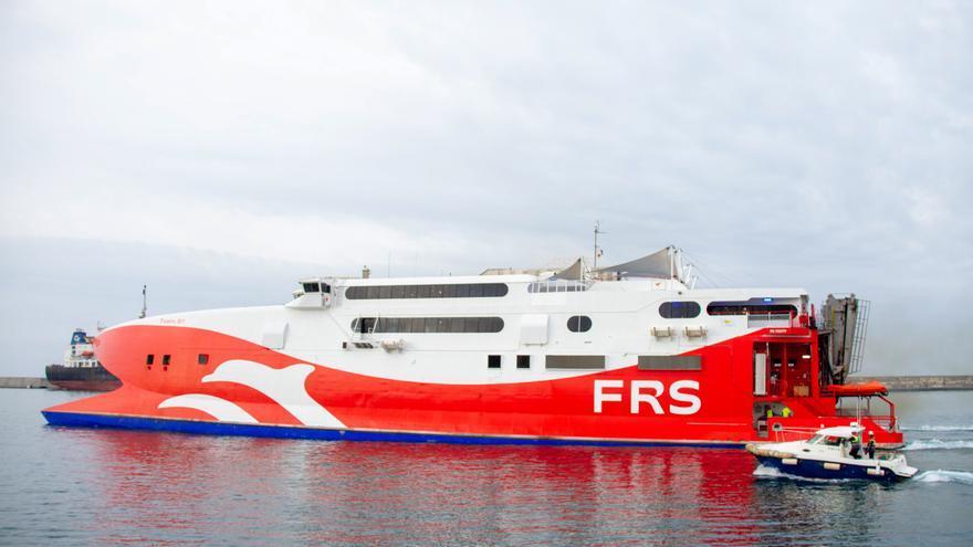 La naviera alemana FRS empieza a operar la ruta entre las Pitiusas