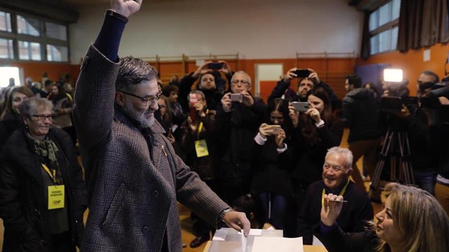 """Riera dice que los soberanistas aspiran a ganar """"para revertir el golpe Estado"""""""
