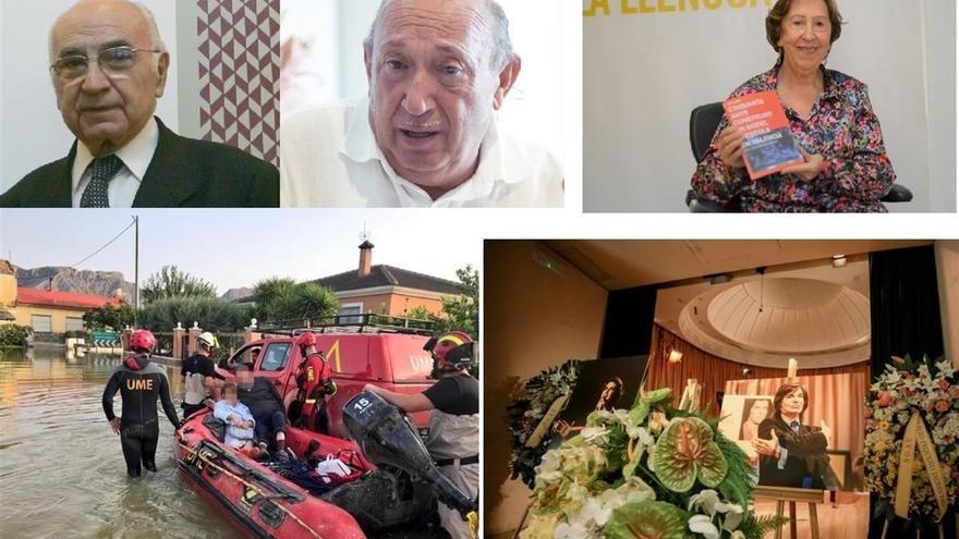 Francisco Brines, Francis Montesinos, Carme Miquel, el dispositivo por la DANA en Alicante y la capilla ardiente de Camilo Sesto
