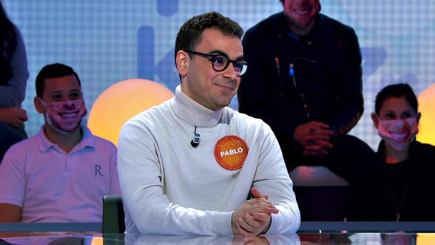 Pablo Díaz en 'Pasapalabra'