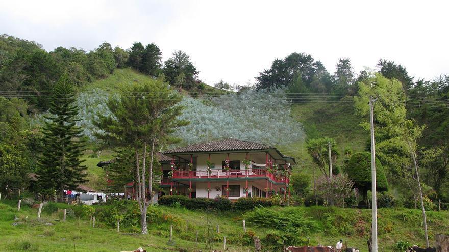 Hacienda Cafetera en las cercanías de Salento. Ben Bowes