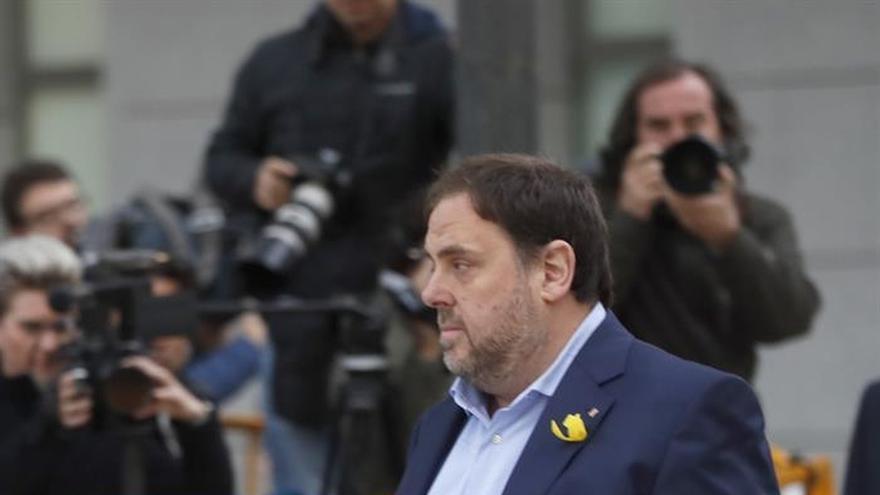 Oriol Junqueras acude a declarar a la Audiencia Nacional