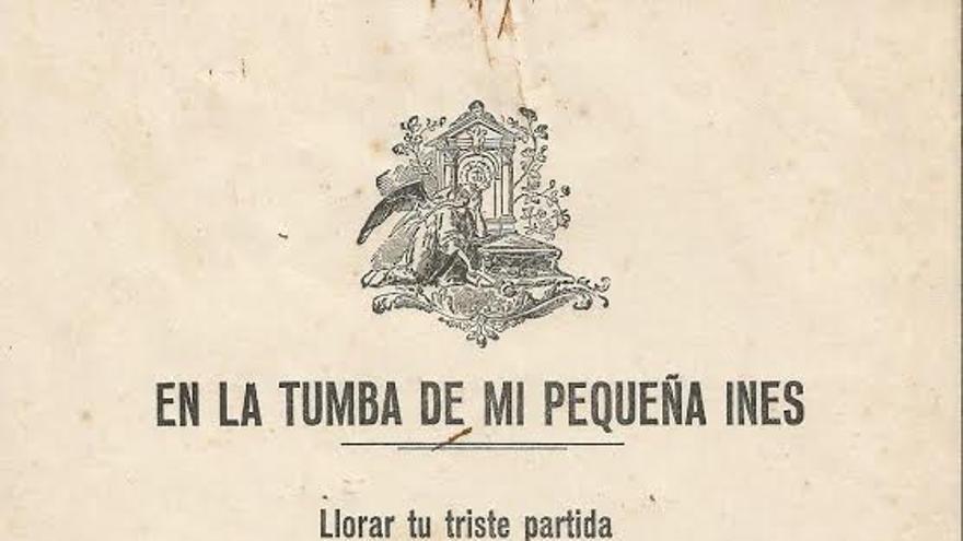 Uno de los impresos realizado en la primera imprenta de La Gomera recibido por el Cabildo de La Palma.