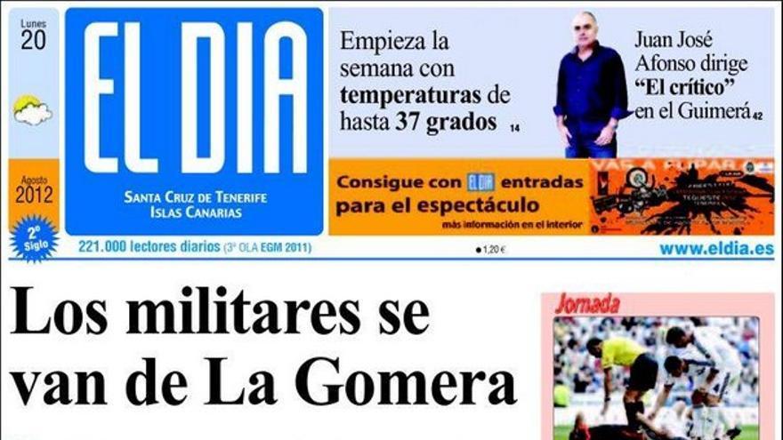 De las portadas del día (20/08/2012) #3