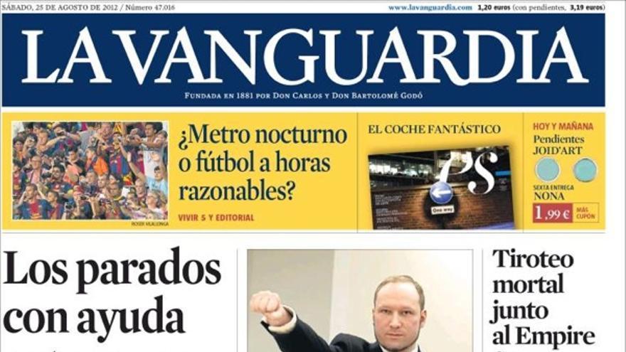 De las portadas del día (25/08/2012) #9