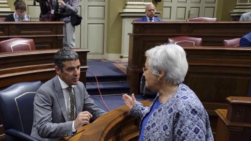 Narvay Quintero y María Victoria Hernández.