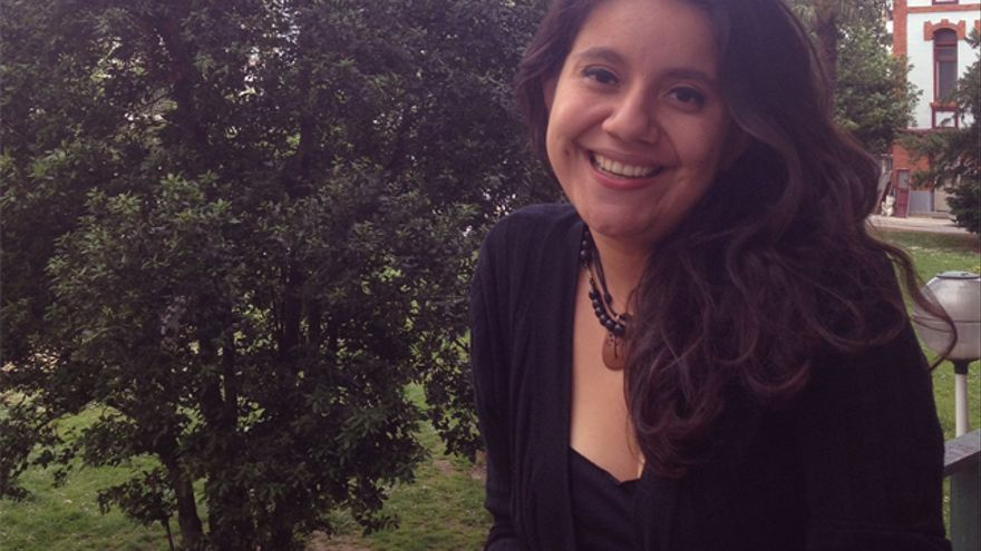 Sara García, psicóloga y activista feminista salvadoreña.