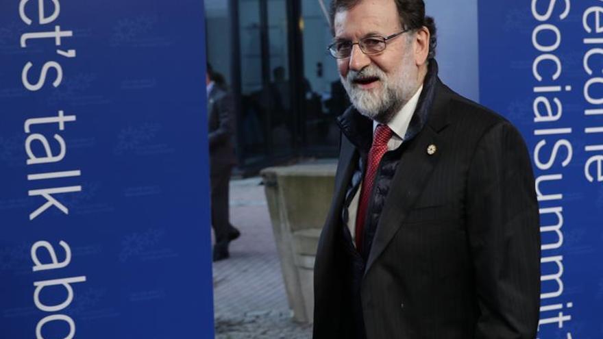 Rajoy pide a la UE más movilidad de los trabajadores y la portabilidad de las pensiones