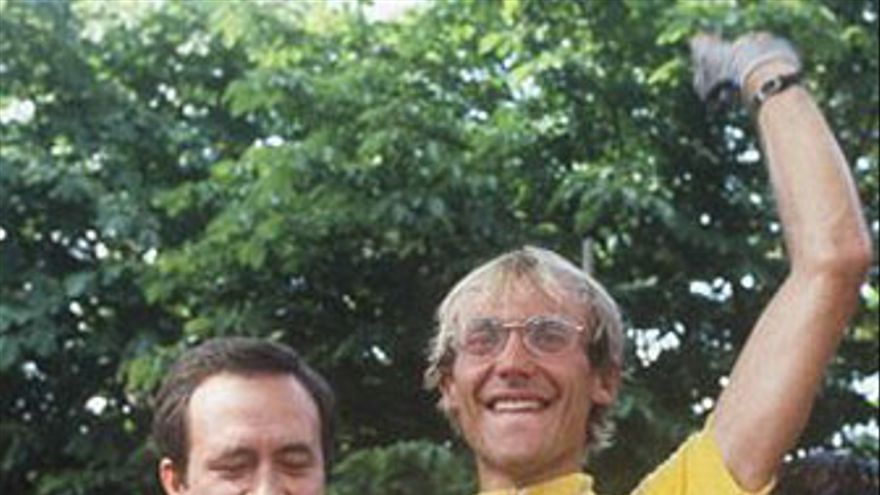 Laurent Fignon, campeón en 1983 y 1984 del Tour de Francia. (AFP / GETTY IMAGES)