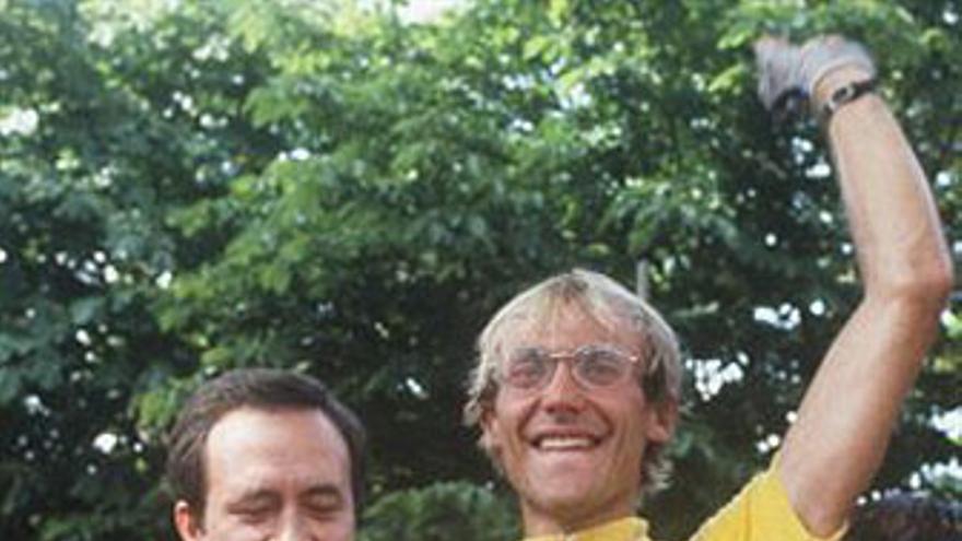 Laurent Fignon, campeón en 1983 y 1984 del Tour de Francia. (AFP / GETTY IMAGES)