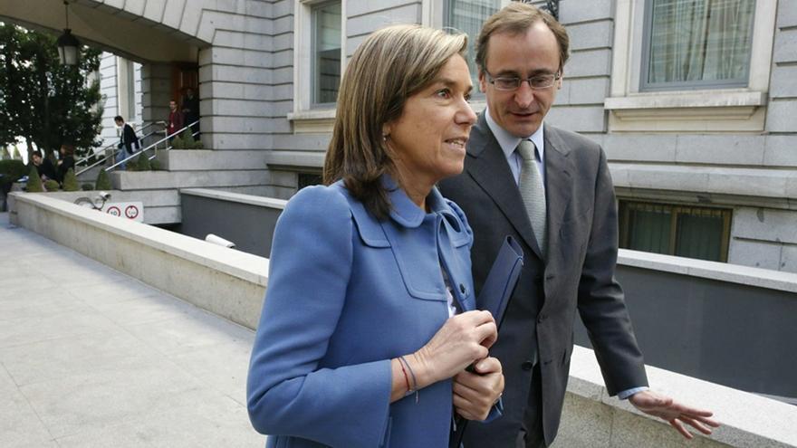 Ana Mato y Alfonso Alonso van a tener largas conversaciones sobre el aborto. Foto: Juan Carlos Hidalgo/EFE