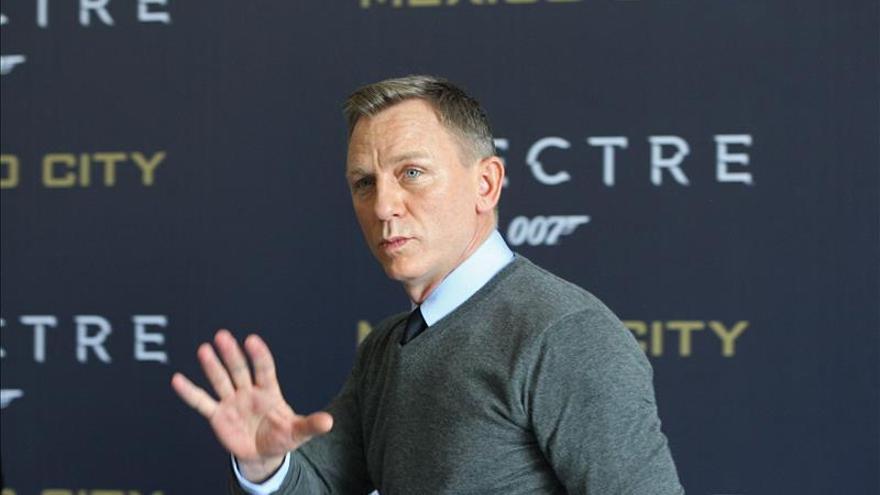 Craig, un Bond que se sigue emocionando con 007 pero que se toma un descanso