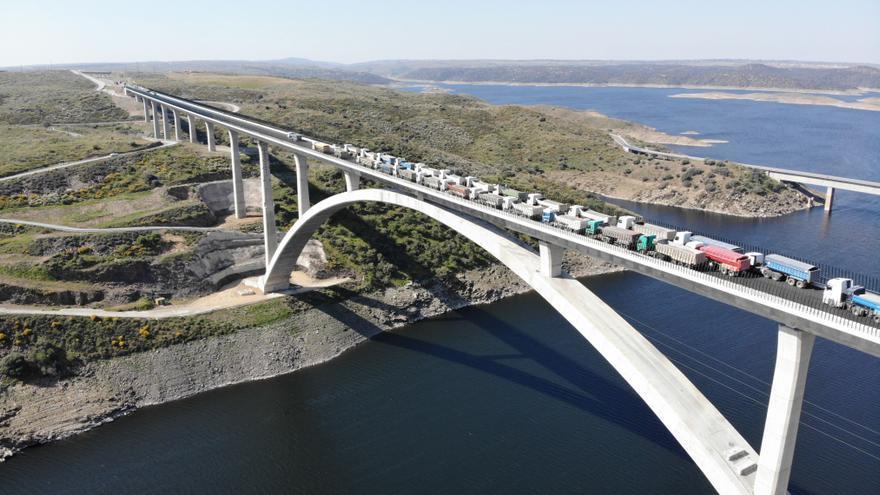 Viaducto,AVE,Tajo,Prueba,carga