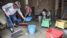Trombas de agua provocan inundaciones en garajes y locales en el País Vasco